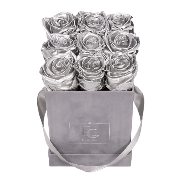 CLASSIC INFINITY ROSEBOX | SILVER | S
