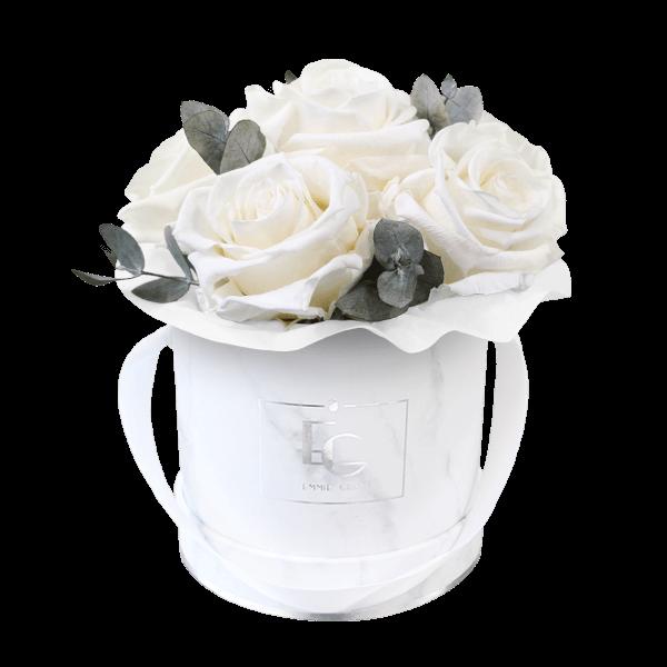 Splendid Eucalyptus Infinity Rosebox   Pure White   XS