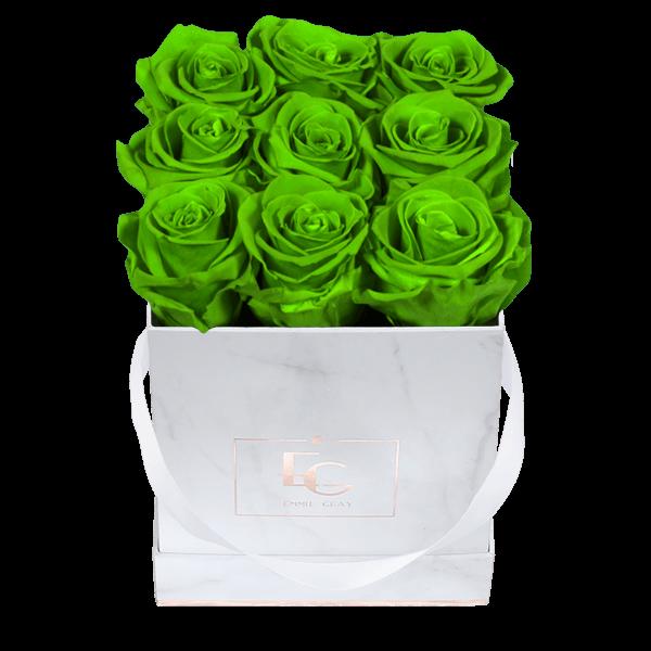 Classic Infinity Rosebox | Green Glow | S