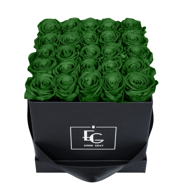 CLASSIC INFINITY ROSEBOX | EMERALD GREEN | M