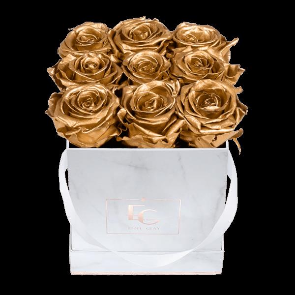 Classic Infinity Rosebox   Gold   S