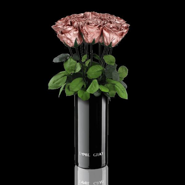 Classic Vase Set | Rose Gold | 10 ROSES