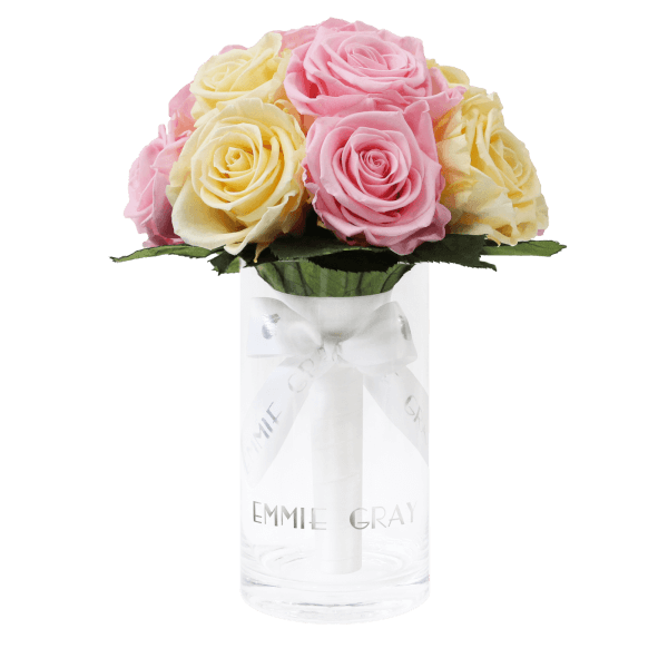 Romantic Infinity Bouquet | Bridal Pink & Champagne | S