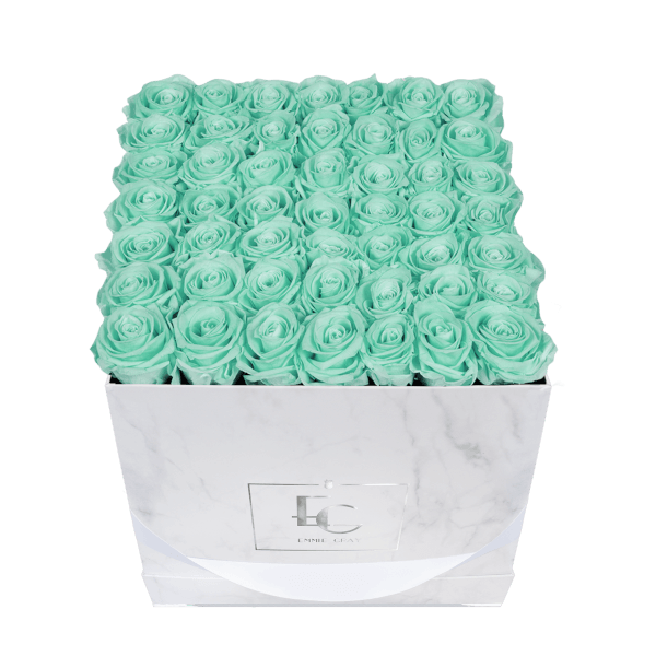 Classic Infinity Rosebox | Minty Green | L