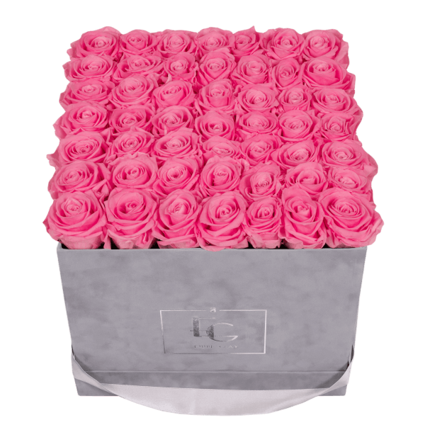 CLASSIC INFINITY ROSEBOX | BABY PINK | L