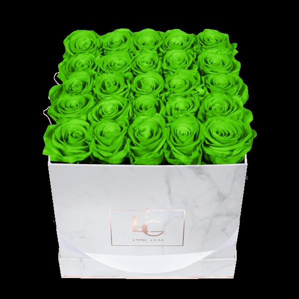 Classic Infinity Rosebox | Green Glow | M
