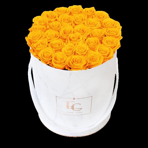 Classic Infinity Rosebox | Sunny Yellow | L