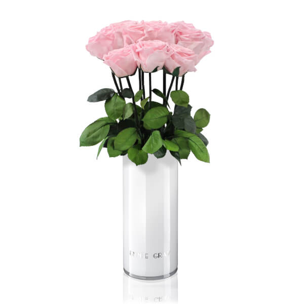 Classic Vase Set | Bridal Pink | 10 ROSES