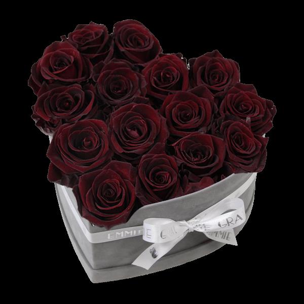 Classic Infinity Rosebox | Burgundy | M