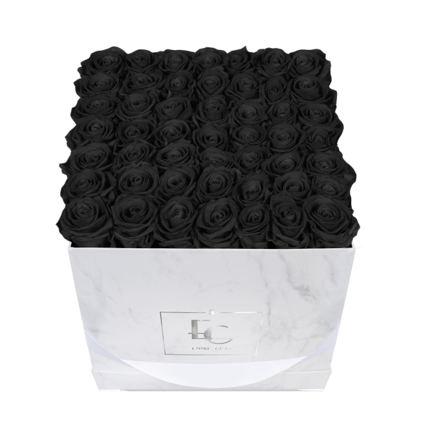 CLASSIC INFINITY ROSEBOX | BLACK BEAUTY | L