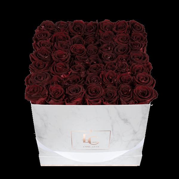 Classic Infinity Rosebox | Burgundy | L