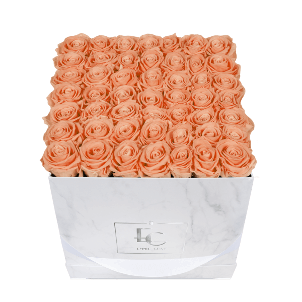 Classic Infinity Rosebox | Perfect Peach | L