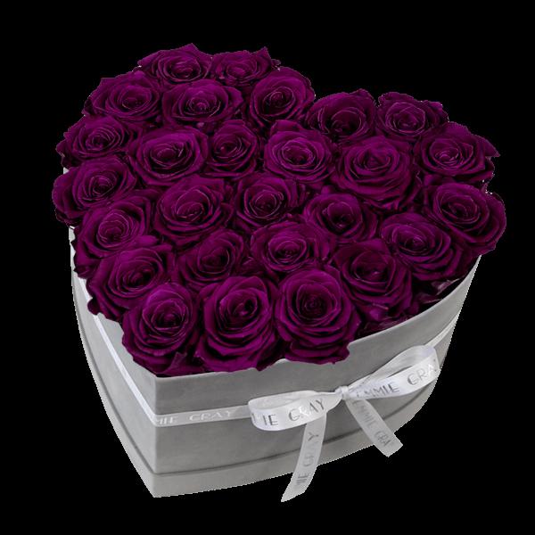 Classic Infinity Rosebox | Velvet Plum | L