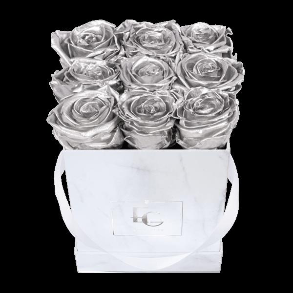 Classic Infinity Rosebox | Silver | S